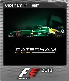F1 2013 Foil 11