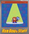 Axe, Bow & Staff Foil 1