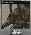 Brutal Legend Foil 1