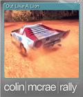 Colin McRae Rally Foil 6