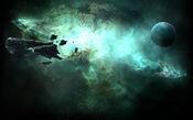 EVE Online Background Gallente Federation