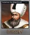 Europa Universalis IV Foil Suleman the Magnificent