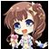 Hyperdevotion Noire Goddess Black Heart Emoticon AiMasujima