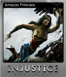 Injustice Gods Among Us Foil 3