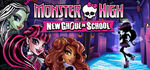 Monster High New Ghoul in School Logo
