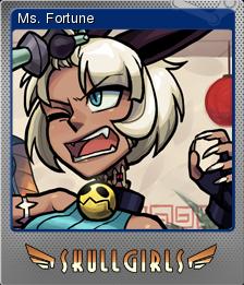Skullgirls Foil 05