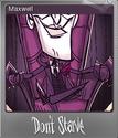 Don't Starve Foil 1