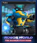 Robo's World The Zarnok Fortress Card 1