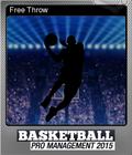 Basketball Pro Management 2015 Foil 8