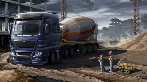 Euro Truck Simulator 2 Artwork 5
