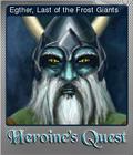 Heroines Quest The Herald of Ragnarok Foil 3
