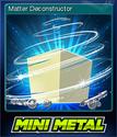 Mini Metal Card 07