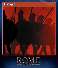Rome Total War Card 3