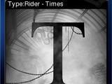 Type:Rider - Times