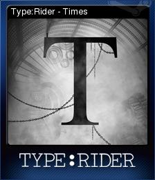 TypeRider Card 7