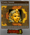 Avaris 2 The Return of the Empress Foil 2