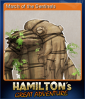 Hamilton's Great Adventure Card 3