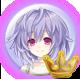 Hyperdimension Neptunia ReBirth3 V Generation Badge Foil