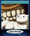 Last Word Card 5