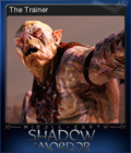 Middle-earth Shadow of Mordor Card 8