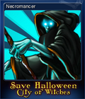 Save Halloween City of Witches Card 05