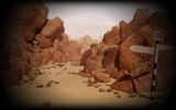 Dream Background Lonely Desert Background