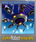 Drunken Robot Pornography Foil 4