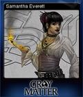 Gray Matter Card 1