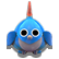 Lili Child of Geos Emoticon bluebird
