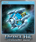Direct Hit Missile War Foil 3