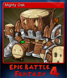 Epic Battle Fantasy 4 Card 05