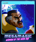 Megamagic Wizards of the Neon Age Card 3