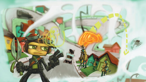 Psychonauts Artwork 8
