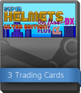 Super Helmets on Fire DX Ultra Edition Plus Alpha Booster Pack