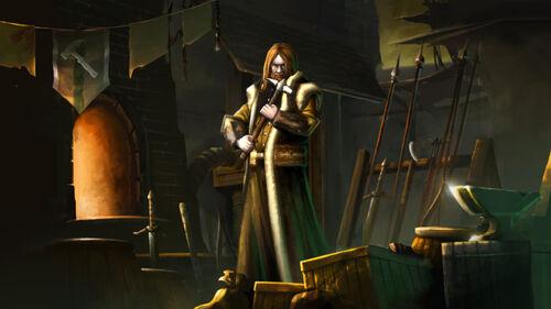 Fallen Enchantress Legendary Heroes Artwork 3