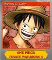 One Piece Pirate Warriors 3 Foil 1