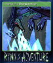 Rynn's Adventure Trouble in the Enchanted Forest Card 6
