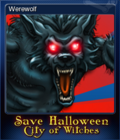 Save Halloween City of Witches Card 04