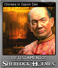 The Testament of Sherlock Holmes Foil 6