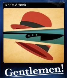 Gentlemen Card 1