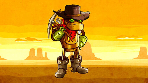 SteamWorld Dig Artwork 1