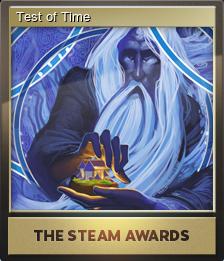 Steam Awards 2016 Foil 3