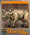 The Culling Of The Cows Foil 6