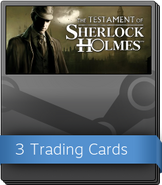 The Testament of Sherlock Holmes Booster