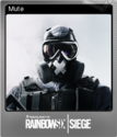 Tom Clancy's Rainbow Six Siege Foil 07