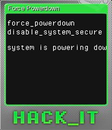 HACK IT Foil 4