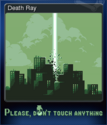 Please Don't Touch Anything Card 3
