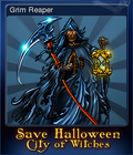 Save Halloween City of Witches Card 07