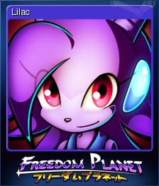 Freedom Planet Card 1