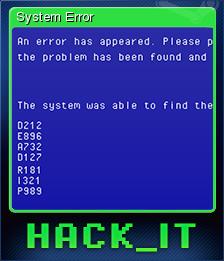 HACK IT Card 5